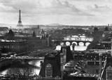 Skyline von Paris Poster