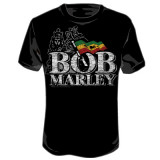Bob Marley - Distressed Logo T-shirts