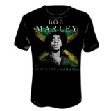 Bob Marley - Kingston Jamaica T-shirts