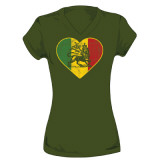 Juniors: Ziggy Marley - Lion Heart T-shirts