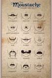 The Moustache Print