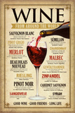 Wine Around the World Pósters