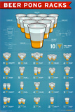 Beer Pong Racks Poster