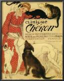 Clinique Cheron, c.1905 Poster by Théophile Alexandre Steinlen