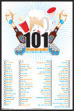 101 Drinking Games to Play Prints