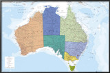 AUSTRALIA MAP Posters