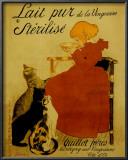 Lait Pur Posters by Théophile Alexandre Steinlen