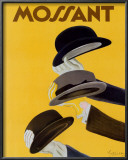Chapeau Mossant Posters by Leonetto Cappiello
