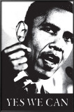 Obama - Yes We Can (black and white) Prints
