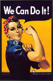 Rosie the Riveter (1944) Posters by J. Howard Miller