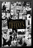 Audrey Hepburn - Breakfast at Tiffany&#39;s Collage Poster