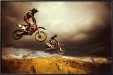 Motocross: Big Air Print