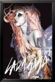 Lady Gaga - Grunge Orange Hair Kunstdrucke