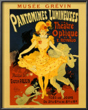 Pantomines Lumineuses Posters by Jules Chéret
