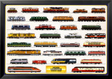 Train Modern Locomotives Print