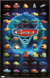 Cars 2 - Grid Pôsters