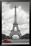 París - Coche rojo Pósters