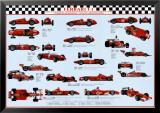 Ferrari F1 World Champions Poster