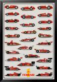 Cars Ferrari Formula I Kunstdruck