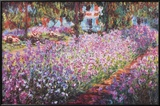 Jardin A Giverny Prints by Claude Monet