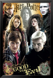 Harry Potter and the Deathly Hallows - Part II - Good vs. Evil Plakater