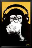 Steez-Headphone Monkey Posters par Steez