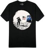 Dr. Who - Moon Landing T-Shirts