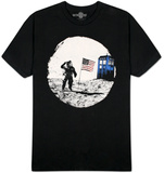 Dr. Who - Moon Landing T-shirts