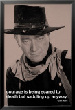 John Wayne-Courage Photo