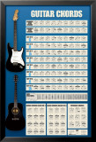 Guitar Chords Posters