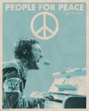 John Lennon - Menschen für Frieden Poster