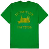 ALL COUNTY  COW TIPPING T-Shirt