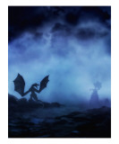 Dragon Myst Giclee Print by Julie Fain