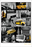 Collage de New York Posters