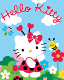 Hello Kitty-Nature Print