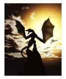 Wyverns Wake Photographic Print by Julie Fain