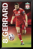 Liverpool - Gerrard 2011/12 Poster