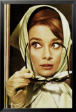 Audrey Hepburn-Glasses Posters