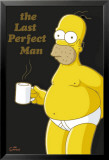 Simpsons - Homer Coffee Break Posters