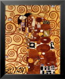 La r&#233;alisation Affiches par Gustav Klimt