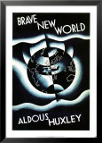 Brave New World by Aldous Huxley Poster by Leslie Holland