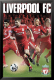 Liverpool - Stars 2011/12 Poster