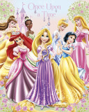 Disney Princess Once Upon a Time Poster
