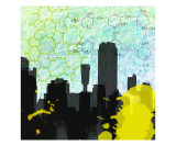 Urban Math Giclee Print by Jan Weiss