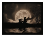 Stargazing Giclee Print by Julie Fain
