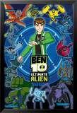 Ben 10 Ultimate Alien (Aliens) Julisteet