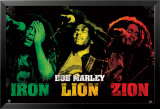 Bob Marley - Iron Lion Zion Photo