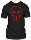 The Punisher - Red Logo Shirts