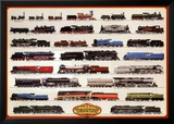 Train Steam Locomotives Prints