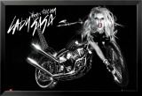 Lady Gaga - Album Cover - Bike Poster
